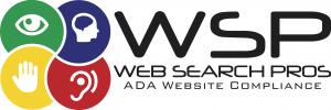 Logo for Web Searhc Pros A.D.A. Website Compliance