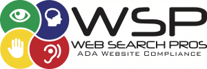 Logo for Web Searhc Pros A.D.A. Website Compliance